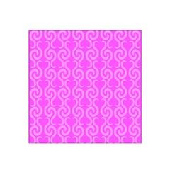 Pink elegant pattern Satin Bandana Scarf