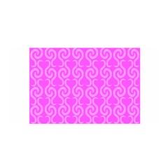 Pink elegant pattern Satin Wrap