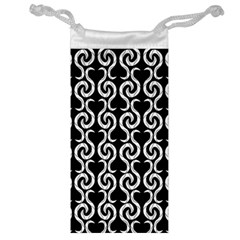 Black and white pattern Jewelry Bags