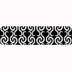 Black and white pattern Large Bar Mats