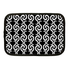Black and white pattern Netbook Case (Medium)