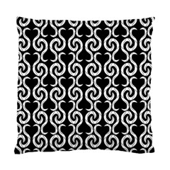 Black and white pattern Standard Cushion Case (Two Sides)