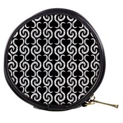 Black and white pattern Mini Makeup Bags