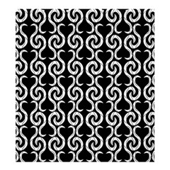 Black and white pattern Shower Curtain 66  x 72  (Large)