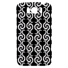 Black and white pattern HTC Sensation XL Hardshell Case