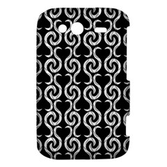 Black and white pattern HTC Wildfire S A510e Hardshell Case