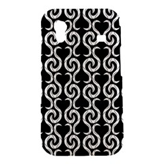 Black and white pattern Samsung Galaxy Ace S5830 Hardshell Case