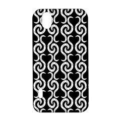 Black and white pattern LG Optimus P970