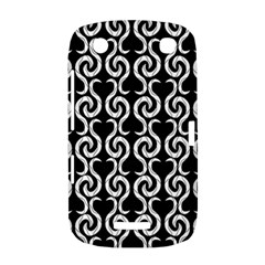 Black and white pattern BlackBerry Curve 9380