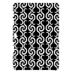 Black and white pattern Samsung Galaxy Tab 10.1  P7500 Hardshell Case