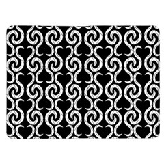 Black and white pattern Kindle Fire (1st Gen) Flip Case