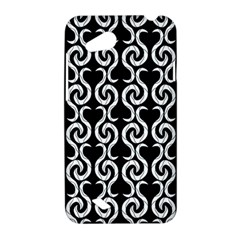Black and white pattern HTC Desire VC (T328D) Hardshell Case