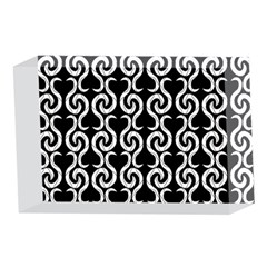 Black and white pattern 4 x 6  Acrylic Photo Blocks