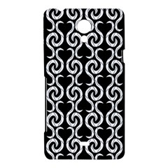 Black and white pattern Sony Xperia T