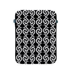 Black and white pattern Apple iPad 2/3/4 Protective Soft Cases