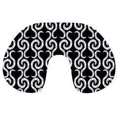 Black and white pattern Travel Neck Pillows