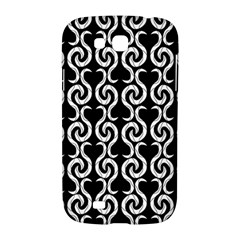 Black and white pattern Samsung Galaxy Grand GT-I9128 Hardshell Case