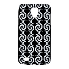 Black and white pattern Galaxy S4 Active