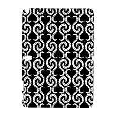 Black and white pattern Samsung Galaxy Note 10.1 (P600) Hardshell Case