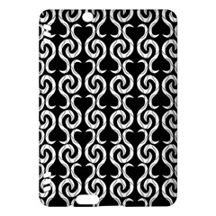 Black and white pattern Kindle Fire HDX Hardshell Case