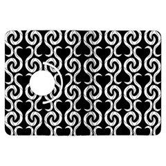 Black and white pattern Kindle Fire HDX Flip 360 Case