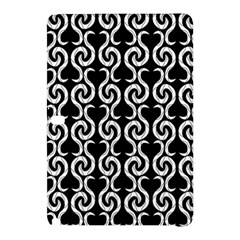 Black and white pattern Samsung Galaxy Tab Pro 12.2 Hardshell Case