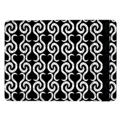 Black and white pattern Samsung Galaxy Tab Pro 12.2  Flip Case