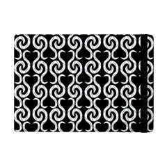 Black and white pattern iPad Mini 2 Flip Cases