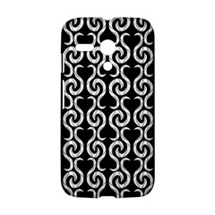 Black and white pattern Motorola Moto G