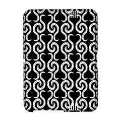 Black and white pattern Amazon Kindle Fire (2012) Hardshell Case