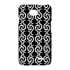 Black and white pattern LG Optimus L70