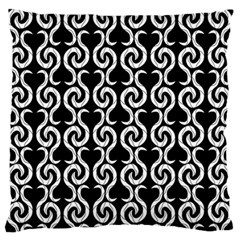 Black and white pattern Standard Flano Cushion Case (Two Sides)