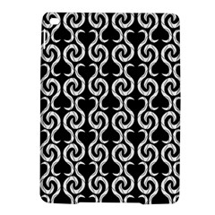 Black and white pattern iPad Air 2 Hardshell Cases