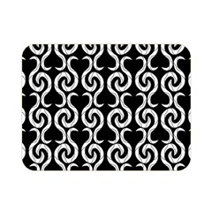 Black and white pattern Double Sided Flano Blanket (Mini)