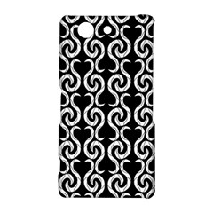 Black and white pattern Sony Xperia Z3 Compact