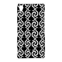 Black and white pattern Sony Xperia Z3