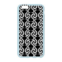 Black and white pattern Apple Seamless iPhone 6/6S Case (Color)