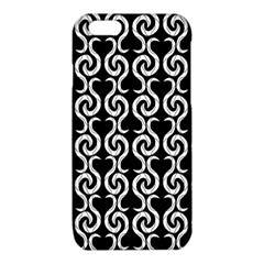 Black and white pattern iPhone 6/6S TPU Case