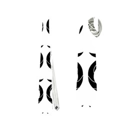 White and black elegant pattern Neckties (One Side)
