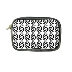 White and black elegant pattern Coin Purse