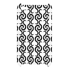 White and black elegant pattern Apple iPod Touch 4