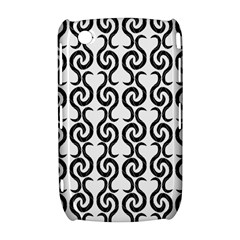 White and black elegant pattern Curve 8520 9300