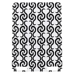White and black elegant pattern Kindle Touch 3G