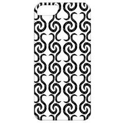 White and black elegant pattern Apple iPhone 5 Classic Hardshell Case