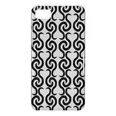 White and black elegant pattern BlackBerry Z10
