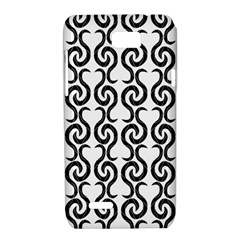 White and black elegant pattern Motorola XT788