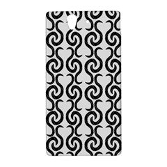 White and black elegant pattern Sony Xperia Z