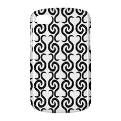 White and black elegant pattern BlackBerry Q10
