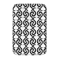 White and black elegant pattern Samsung Galaxy Note 8.0 N5100 Hardshell Case