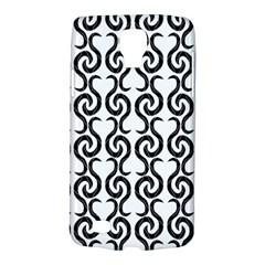White and black elegant pattern Galaxy S4 Active